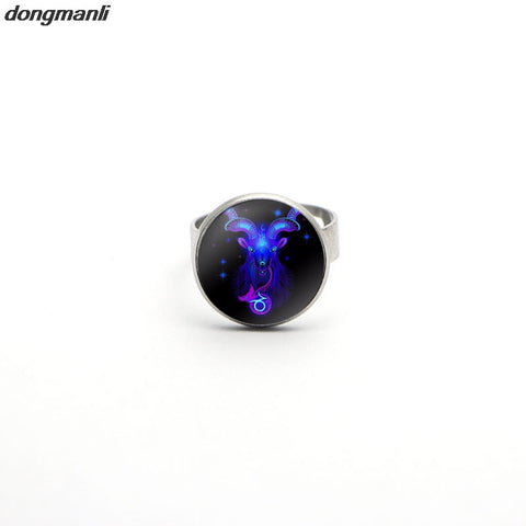 Resizable Psychedelic Art Ring,  - Zodiac Jewelry Store