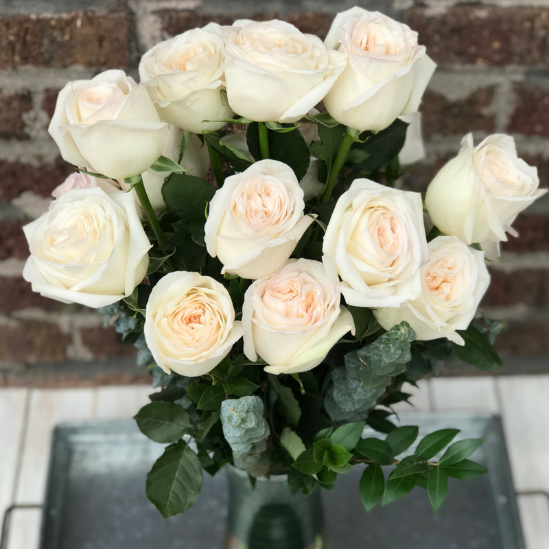 Long Stem Roses - Blush
