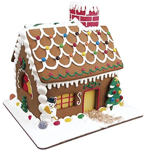 Gingerbread house and cookies complete kit.