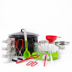 Complete canning and preserving kit