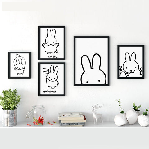 Simple & Adorable Bunny Collage - Bunny Lovers