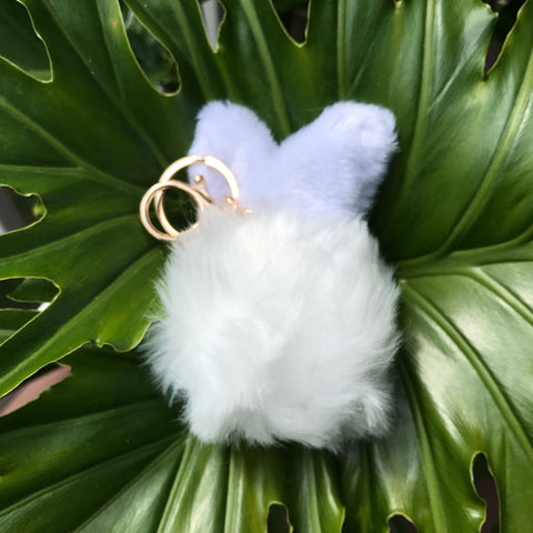 Save Bunny Lives Keychain (Faux Fur) *LIMITED SUPPLY* - Bunny Lovers