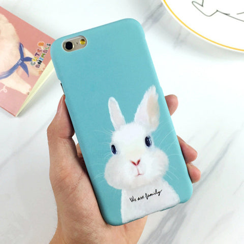 We Are Family iPhone Case - Bunny Lovers