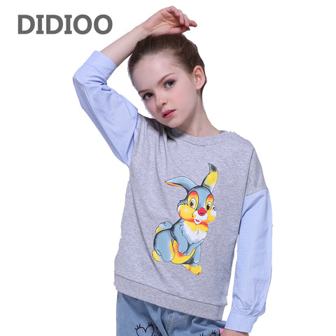 T-shirts for Girls Long Sleeve Animal Rabbit - Bunny Lovers