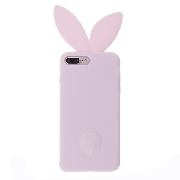 Silicone Rabbit Ear Phone Case Apple iPhone 7 - Bunny Lovers