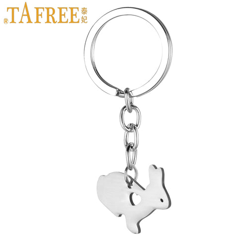 cute little bunny women purse bag keychain stainless steel rabbit - Bunny Lovers