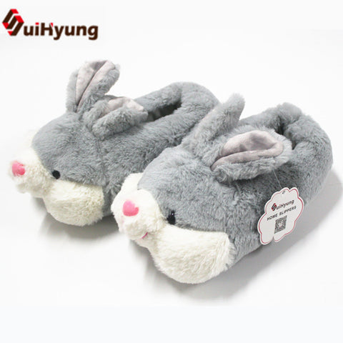 Thermal Women Cotton bunny slippers - Bunny Lovers