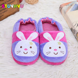 Kids slippers winter warm bunny soft sole - Bunny Lovers
