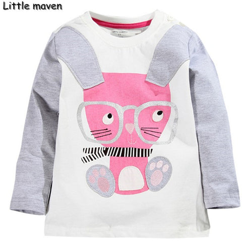Little maven kids brand clothes long sleeve tops - Bunny Lovers