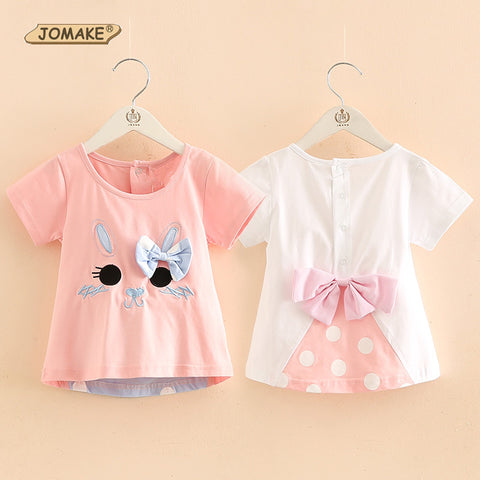 Summer Cute Bow-knot Bunny Baby Girl - Bunny Lovers