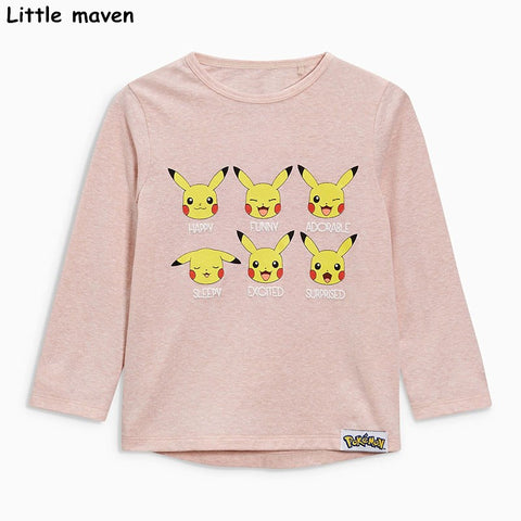 Little maven children brand baby girl clothes long sleeve top - Bunny Lovers