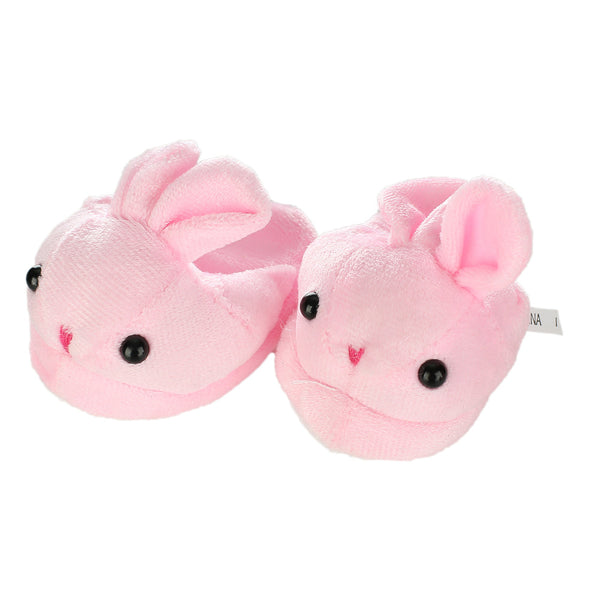 New Arrival Cute Withe Felt Slippers Pink Bunny Rabbit - Bunny Lovers