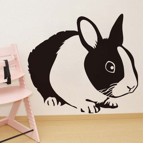It Looks So Cute Bunny Wall Stickers - Bunny Lovers