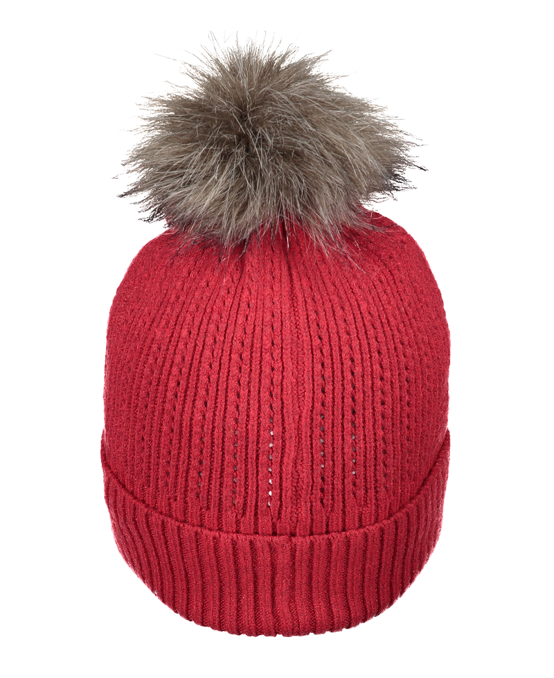 Obermeyer Women's Madison FF Pom Beanie