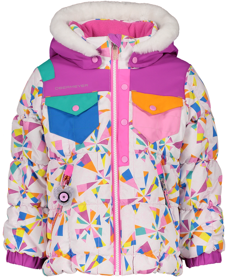 Obermeyer Kid Girls Jamie Jacket