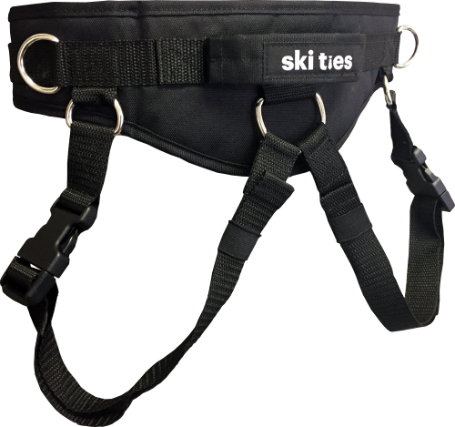 Ski Ties Ultimate Kid's Ski Harness (BLK)