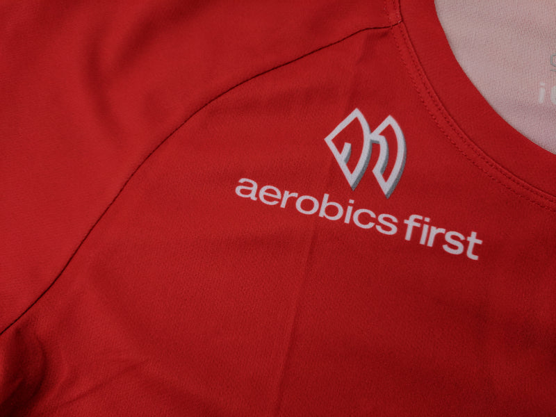 Aerobics First Sugoi Mens Big Logo Turbo Tee