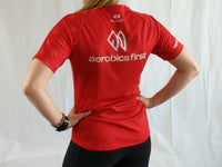 Aerobics First Sugoi Womens Polka Dot Turbo Tee