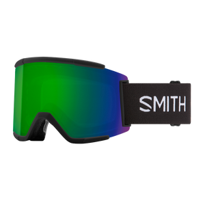 Smith Squad Goggles (Black with CPS Green Lens)