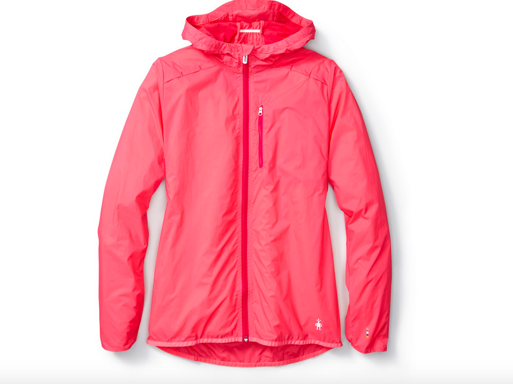 Smartwool Women's PhD Ultra Light Sport Jacket - Bright Coral