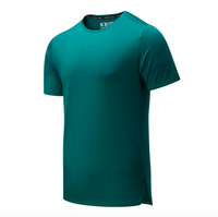 New Balance Men's Q Speed Jaquard Short Sleeve
