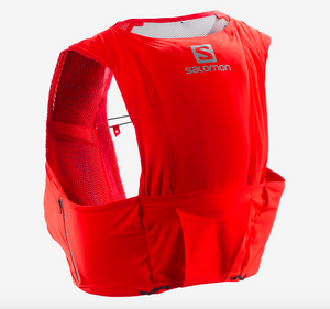 Salomon S/Lab Sense Ultra 8 Set - Racing Red