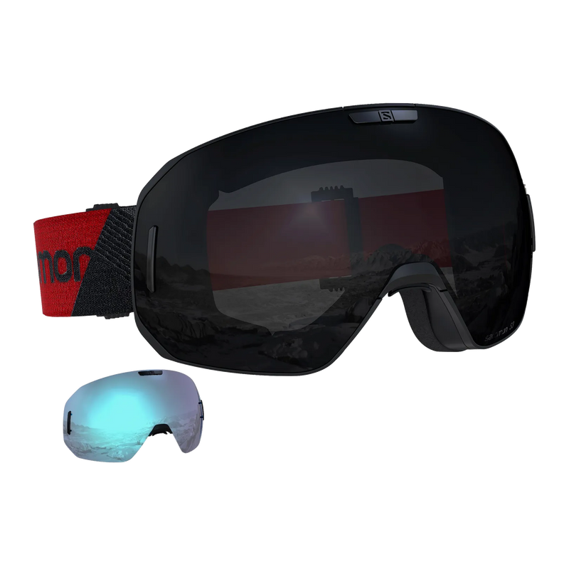 Salomon S/Max - Black/Red/Solar + 1Xtra Lens