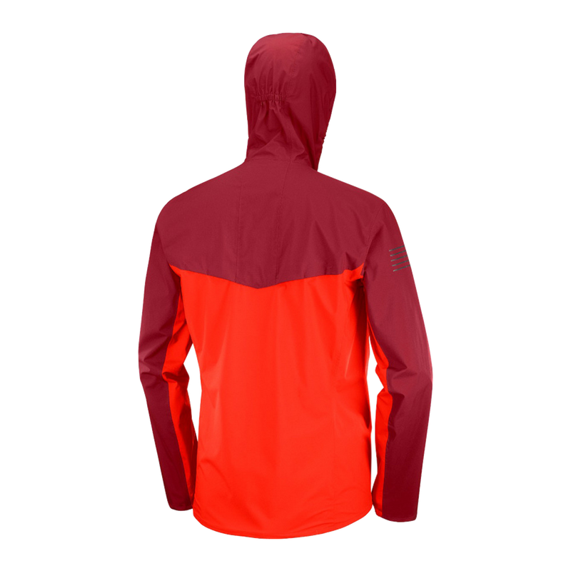 Salomon Men's Bonatti WP Jacket - Fiery Red