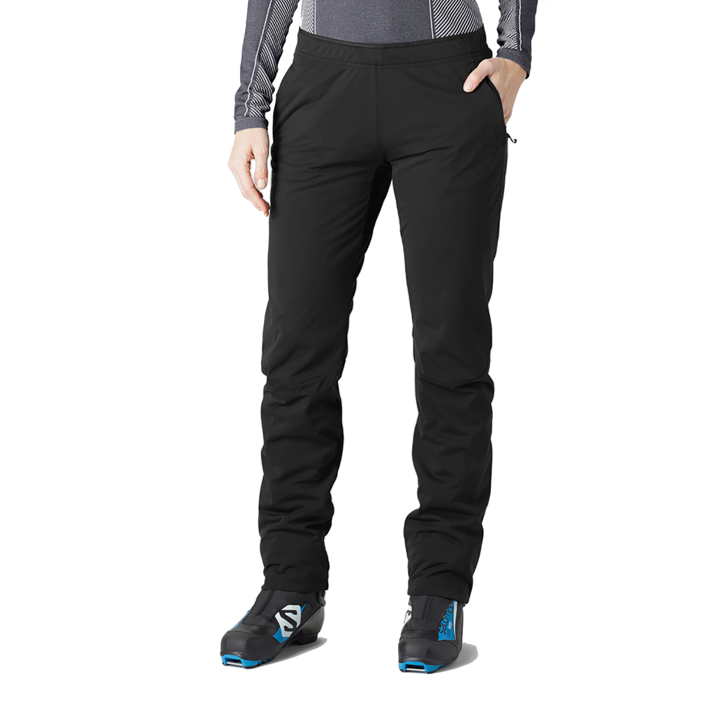 Salomon Women's Agile Warm Pant - Black