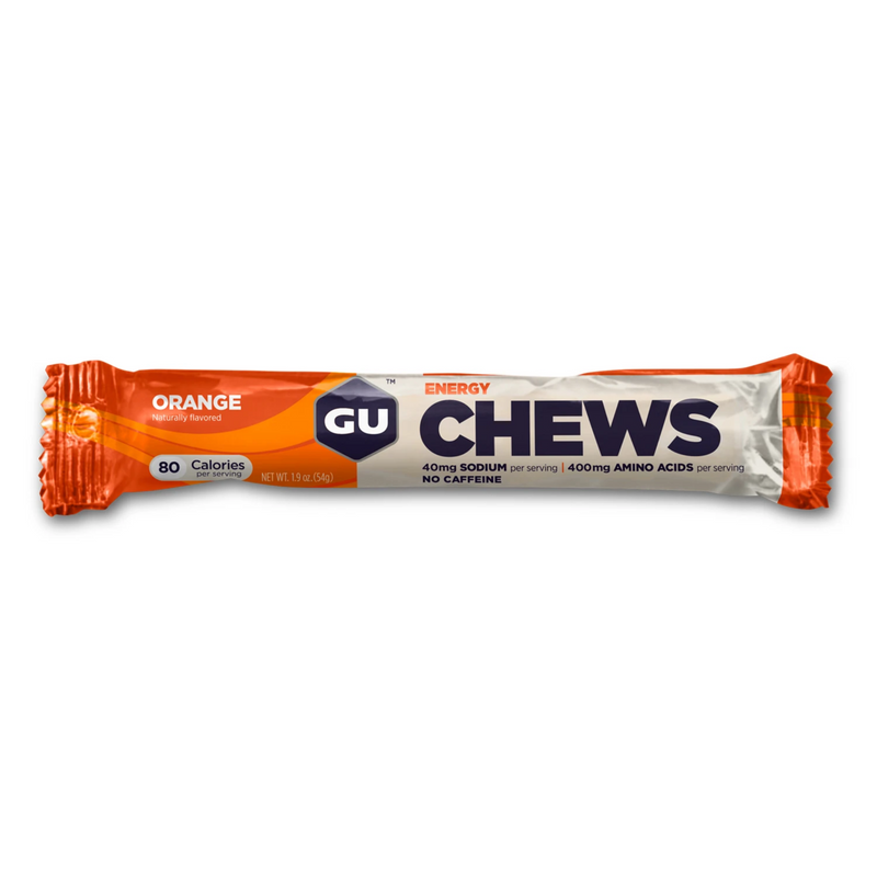 GU Energy Chews (2 SERVING) - Orange