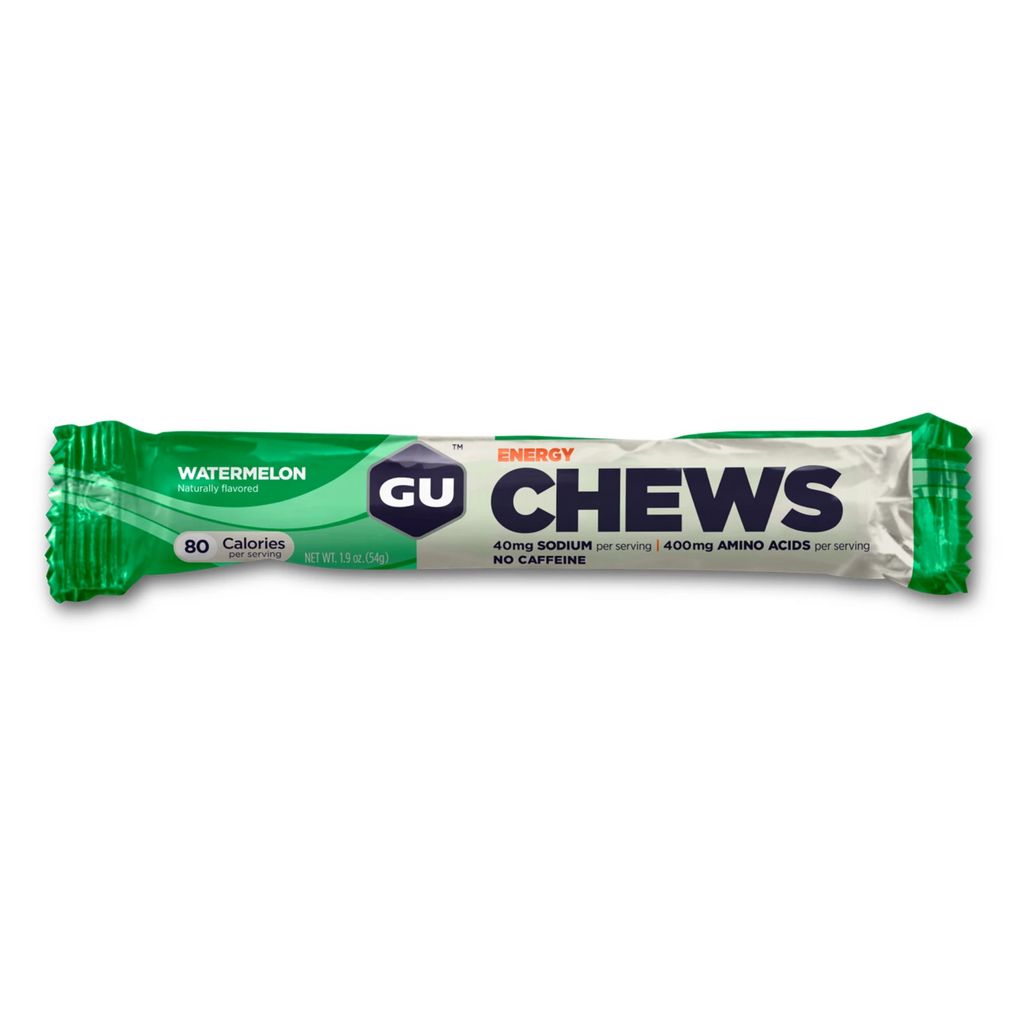 GU Energy Chews 2 SERVING - Watermelon