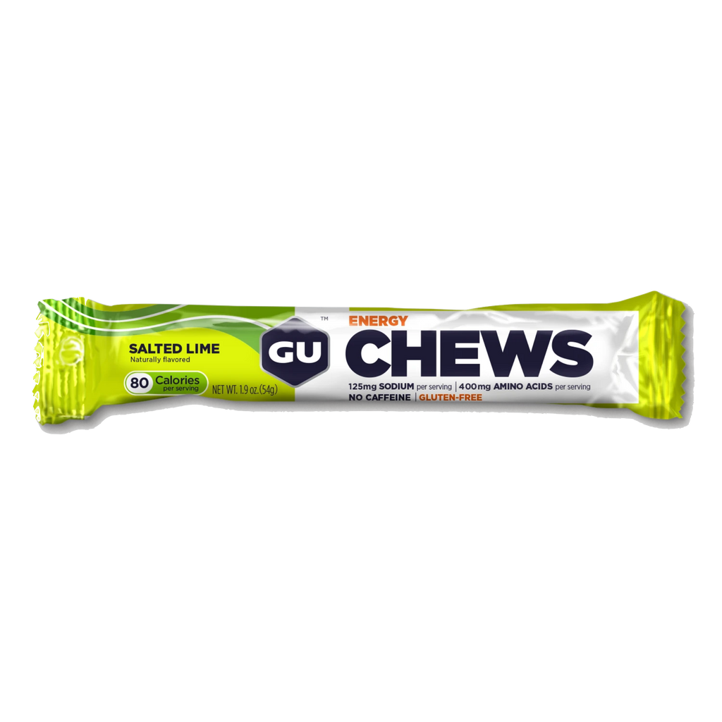 GU Energy Chews (2 SERVING) - Salted Lime