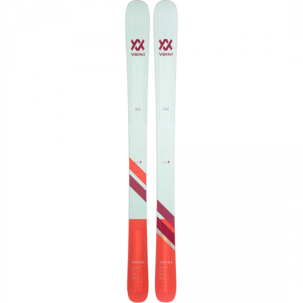 Volkl Women's Secret 102 Skis - 163cm