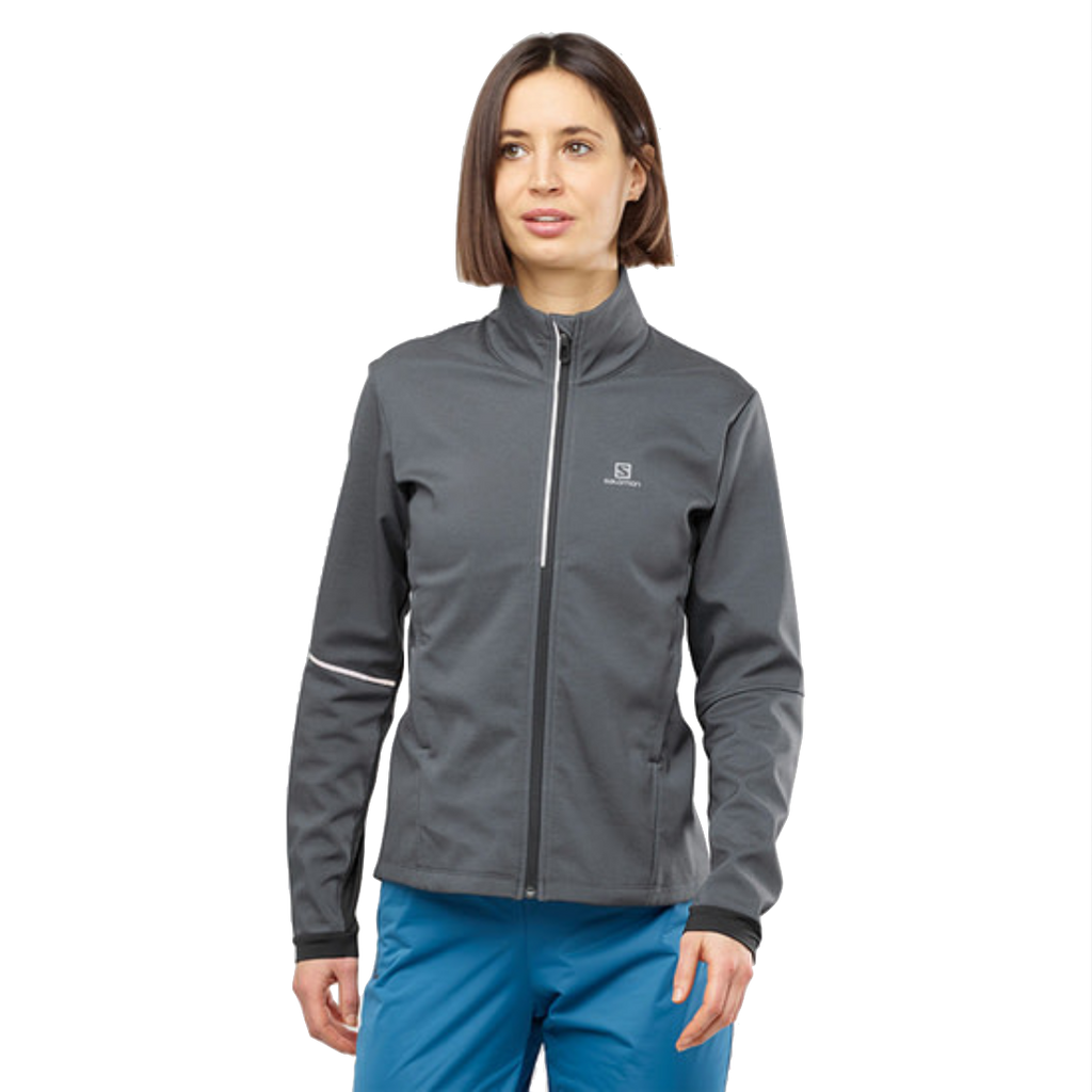 Salomon Women's Agile Softshell Jacket - Ebony