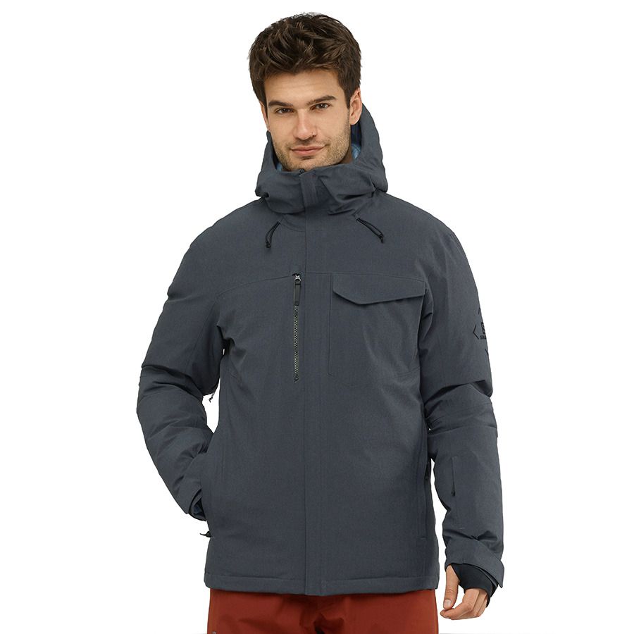 Salomon Men's Arctic Down Jacket - Ebony