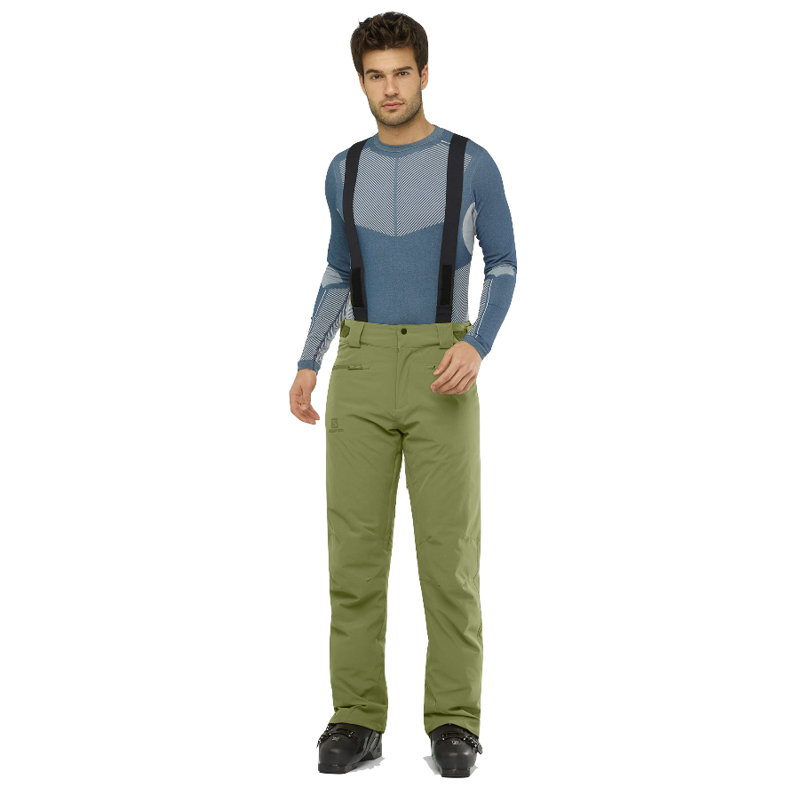 Salomon Men's Stance Pant - Martini Olive
