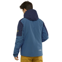 Salomon Men's Speed Jacket - Dark Denim