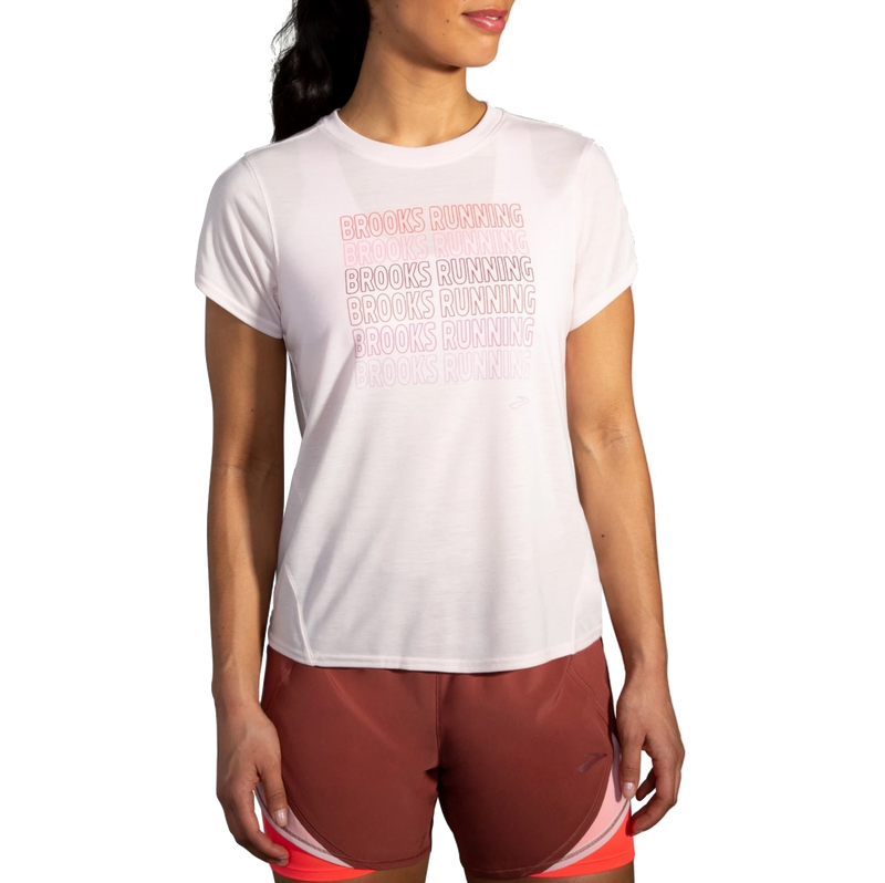 Brooks Women's Distance Graphic Short Sleeve