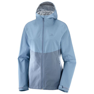 Salomon Womens La Cote Flex 2.5L Jacket Flint