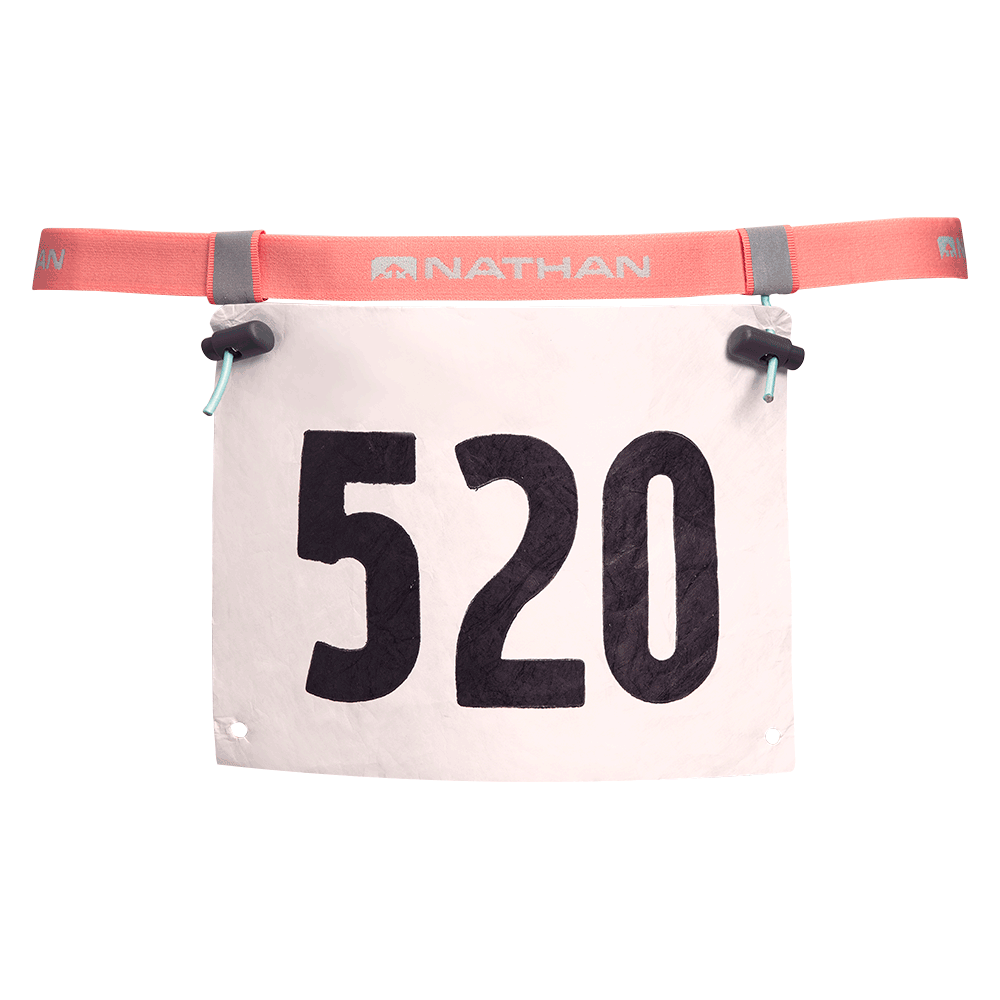 Nathan Race Number Belt
