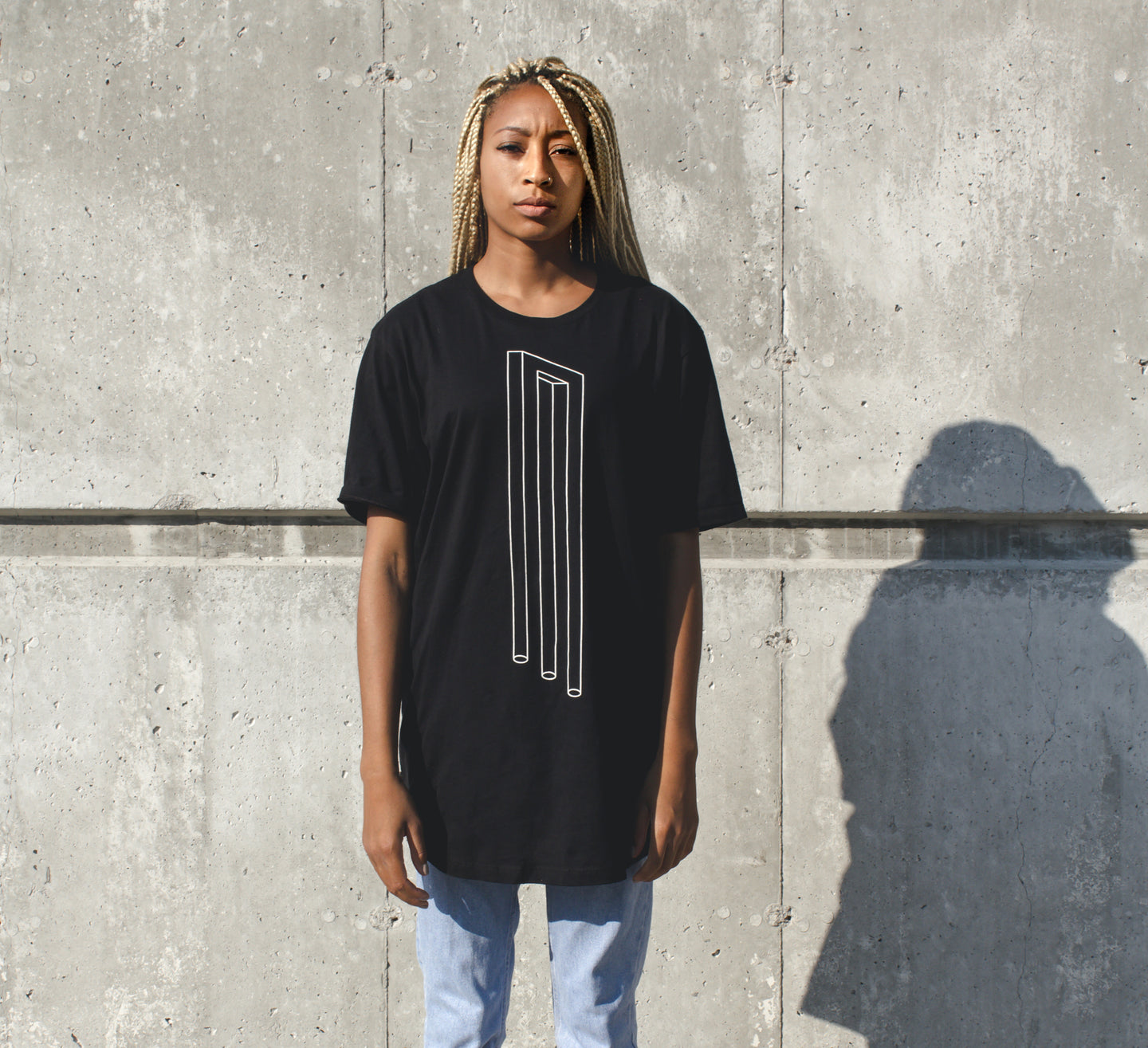 Optical Illusion Tee