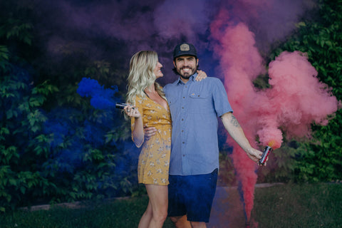 utah gender reveal smoke bombs
