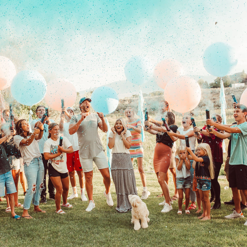 Gender Reveal Confetti Powder Cannon