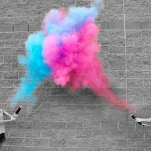 Gender Reveal Smoke Powder Cannons [4 Pack]