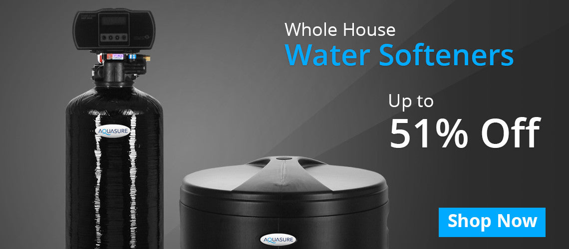 Whole House water softener systems.