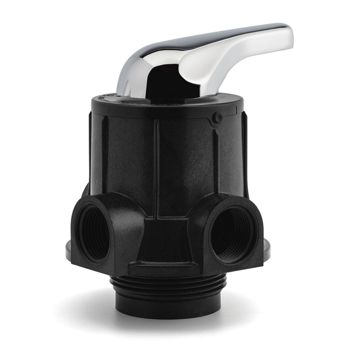 "Adjustable 3 cycle control Manual Filter Valve For 2.5"" Port Tanks."