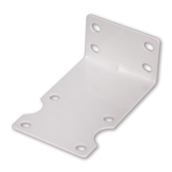 "FM-10W White Single Mounting Bracket For 10"" & 20"" Slim Line Housings"