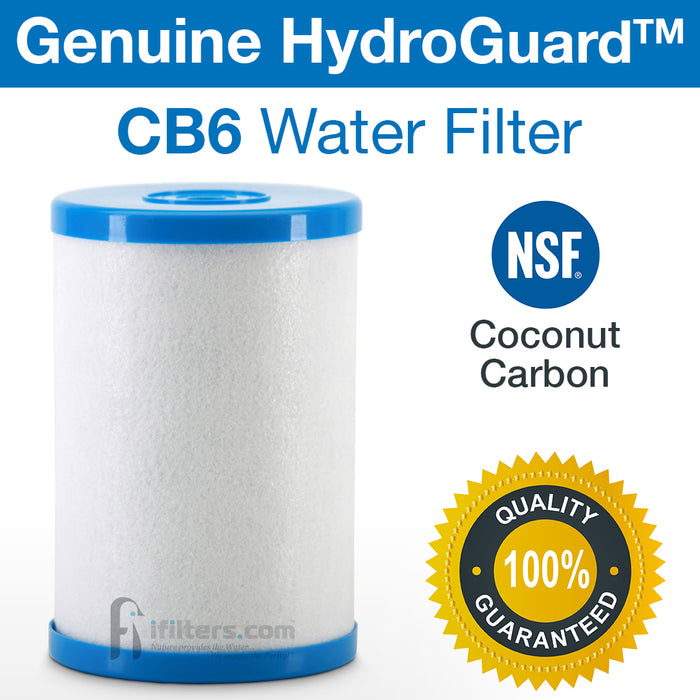2 Pk Genuine Hydro Guard CB6 Water Filters For Multipure Systems