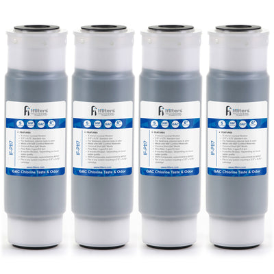 IF-P117 AP117 Compatible GAC Water Filter 4 Pack