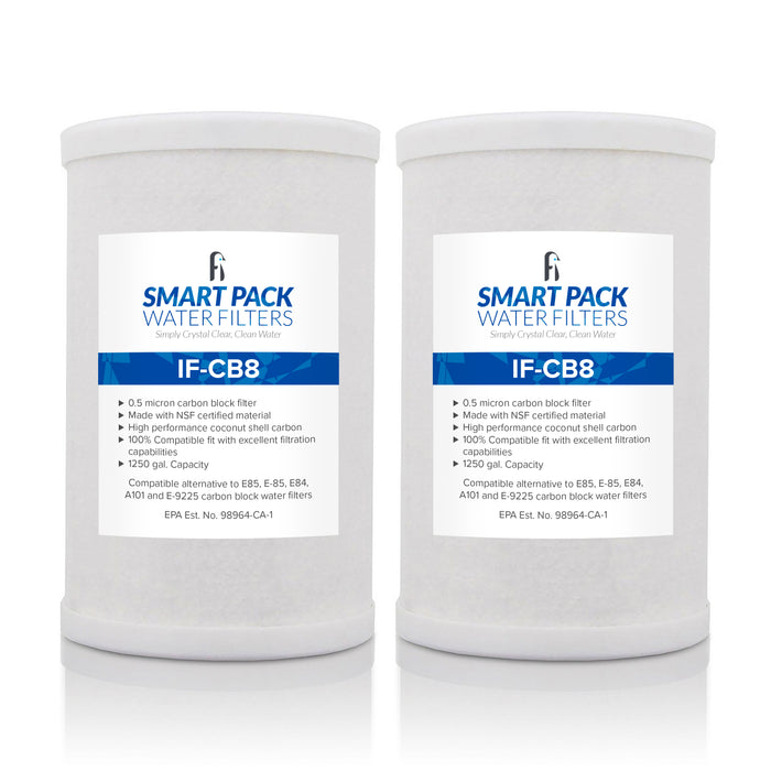 2 PK SmartPack Amway E-84 E-85 E-9225 Gen IV Compatible Replacement Filter - iFilters